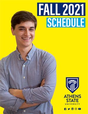 Fall 2021 Schedule Cover